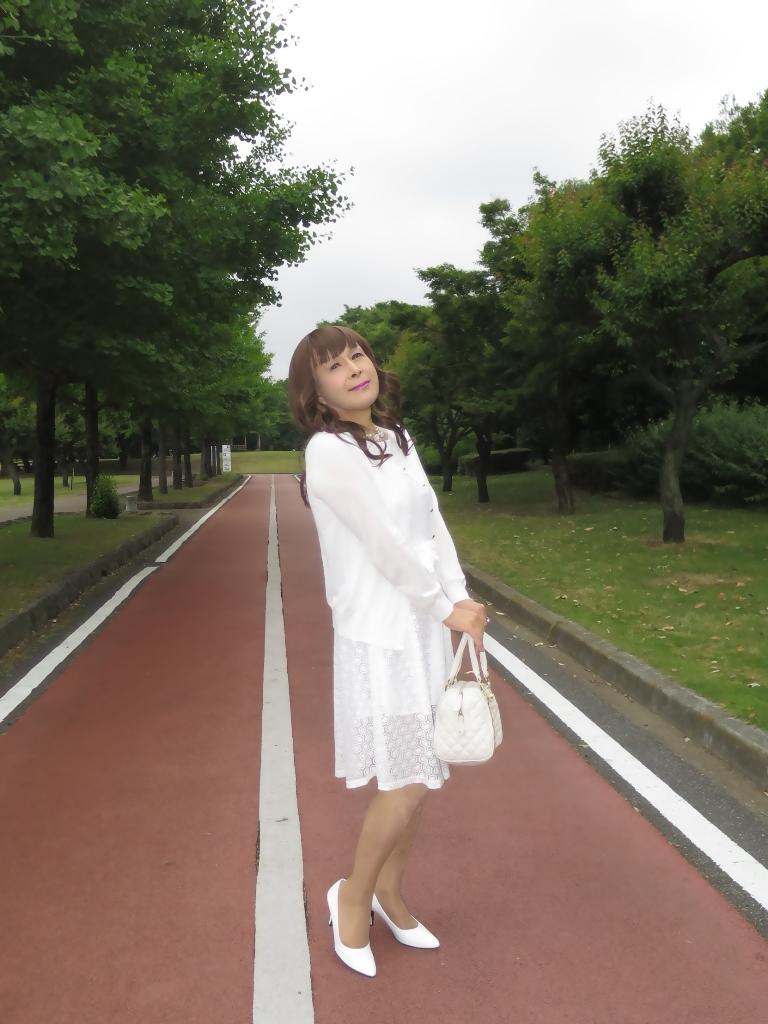 白レースワンピA(7)