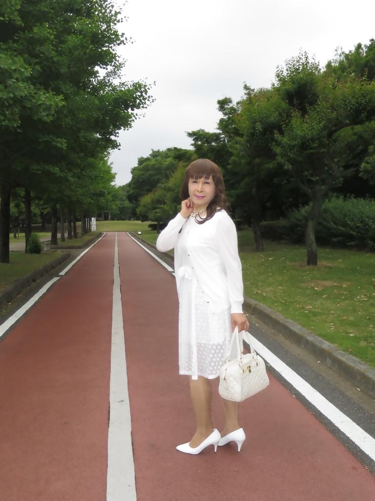 白レースワンピA(6)
