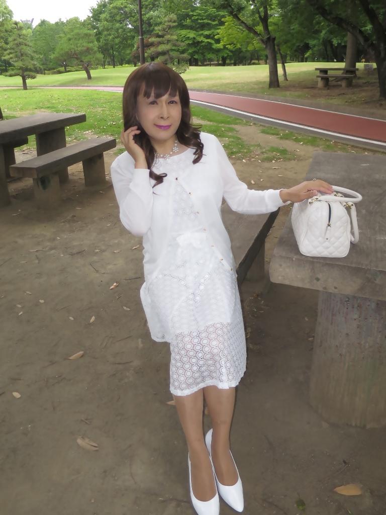白レースワンピB(3)