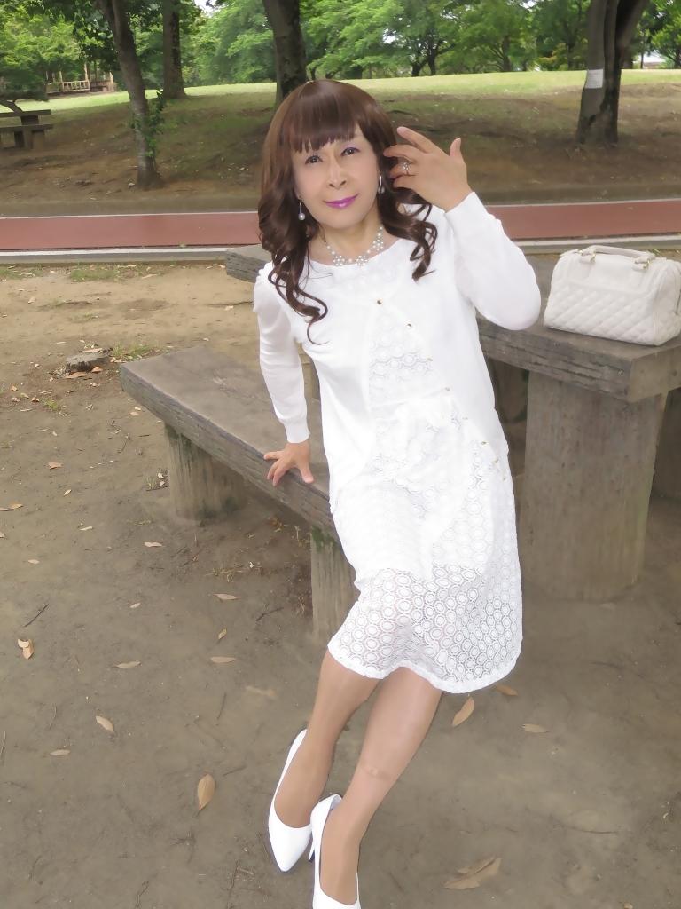 白レースワンピB(7)