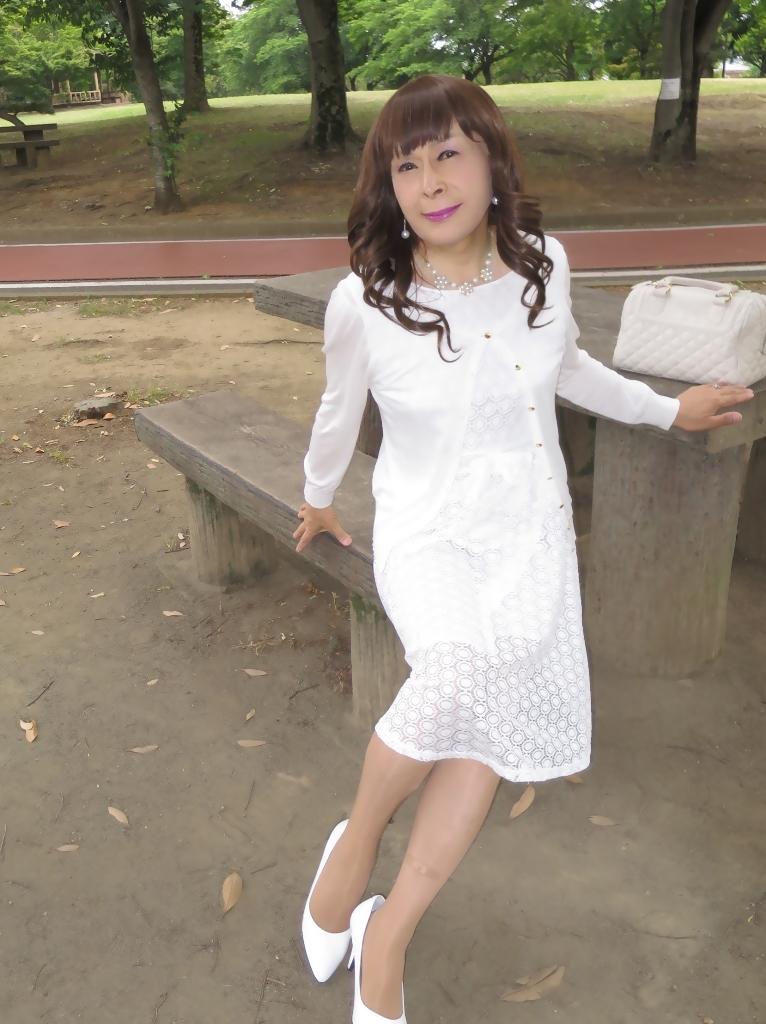 白レースワンピB(6)