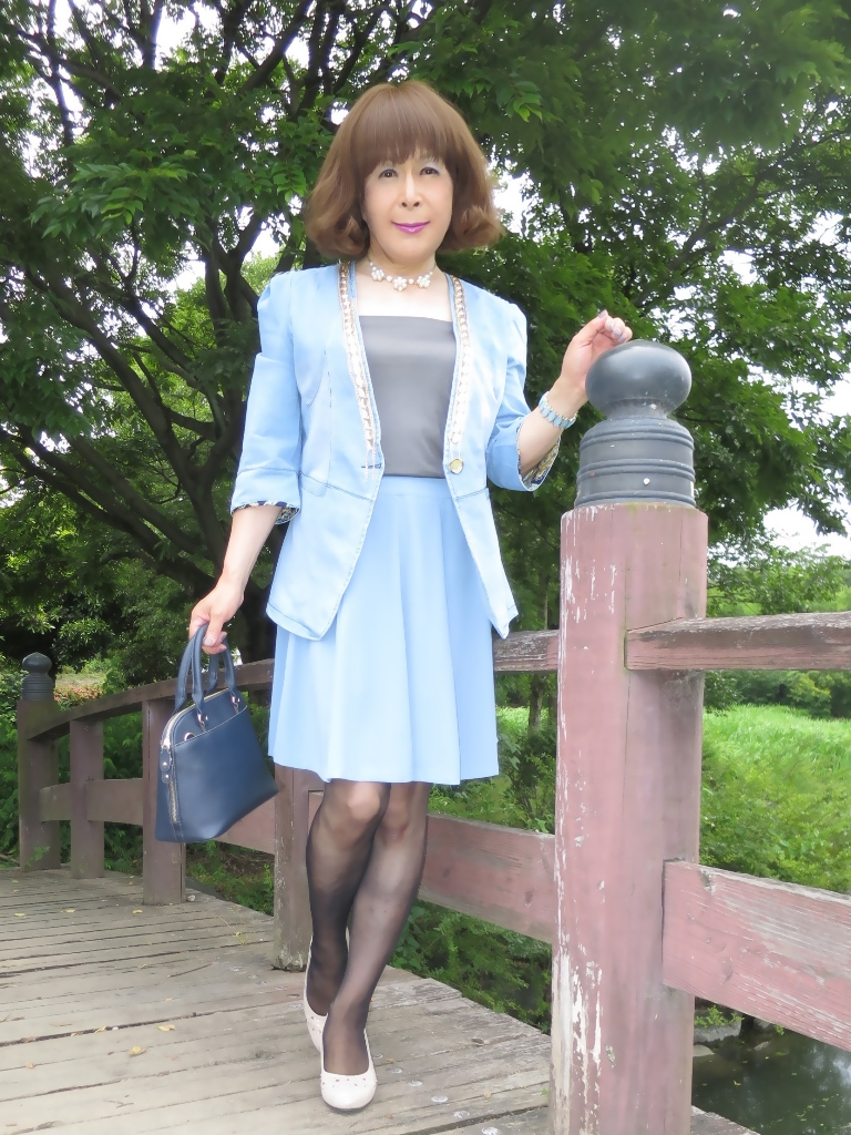 ビジュ飾りデニムジャケットA(3)