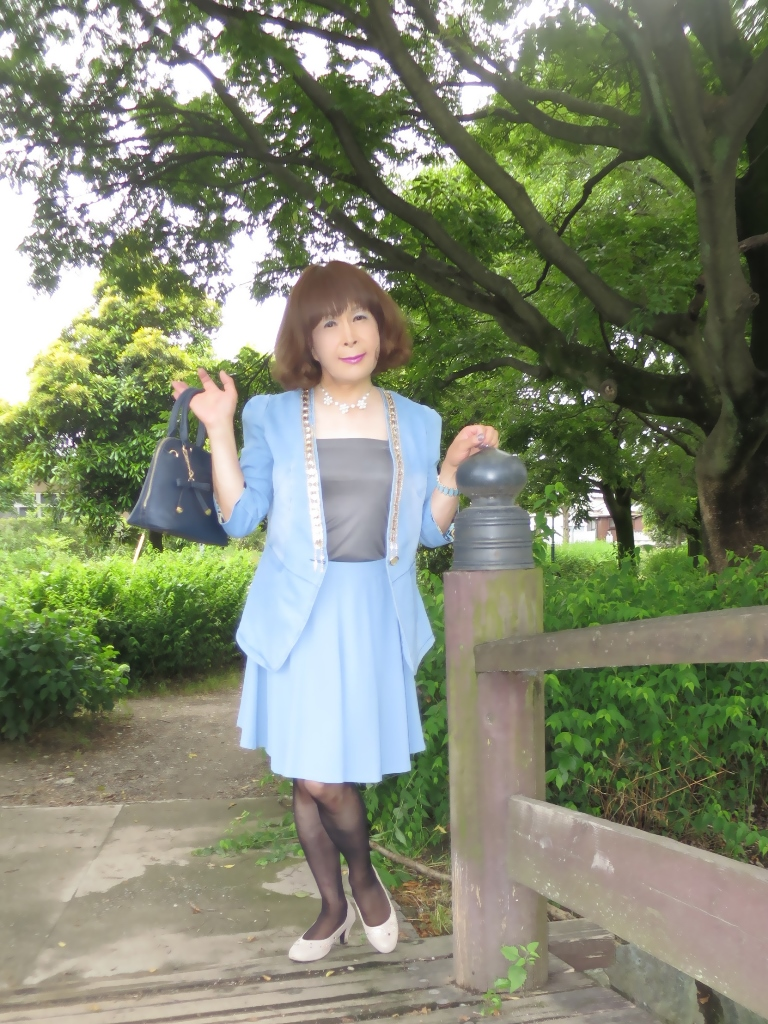 ビジュ飾りデニムジャケットA(9)