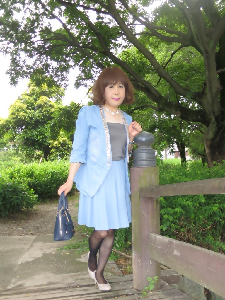 ビジュ飾りデニムジャケットA(6)