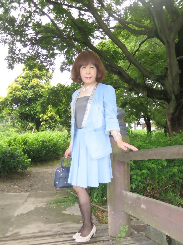 ビジュ飾りデニムジャケットA(7)