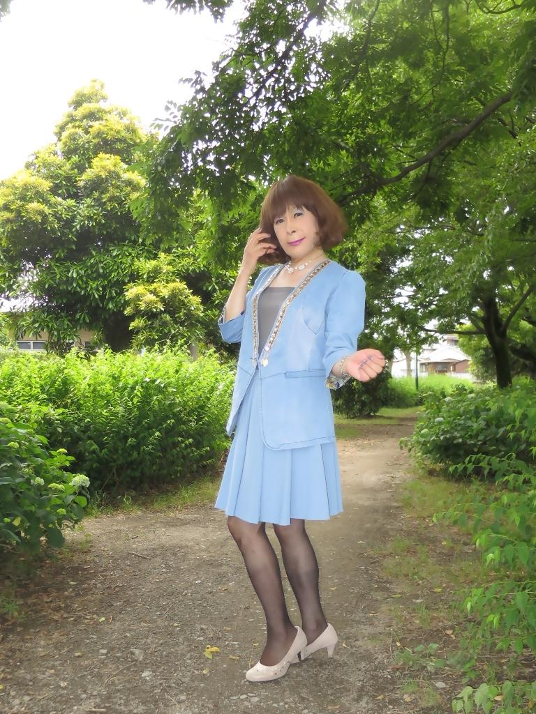 ビジュ飾りデニムジャケットB(3)