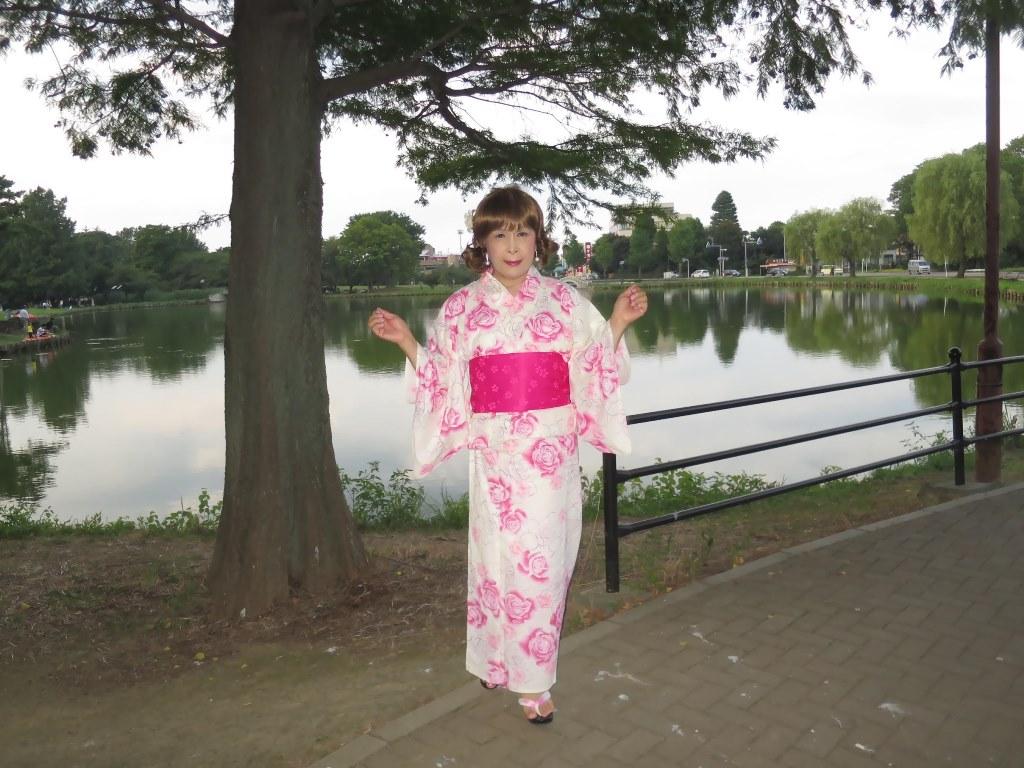 ピンク浴衣公園A(5)
