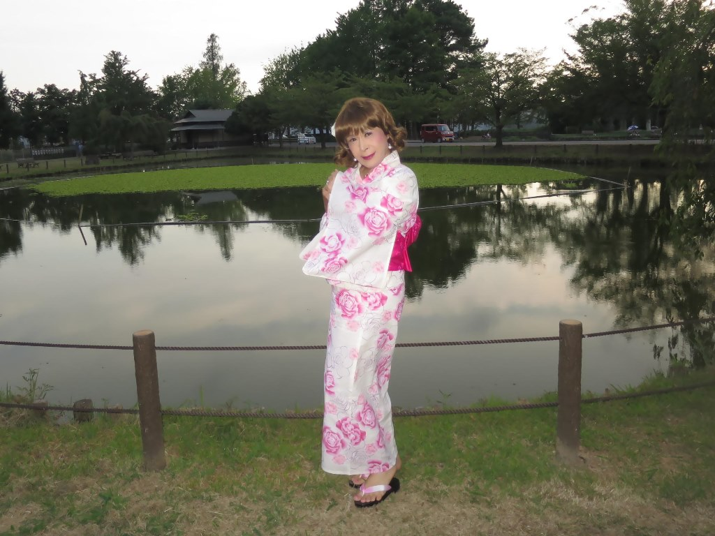 ピンク浴衣C(1)