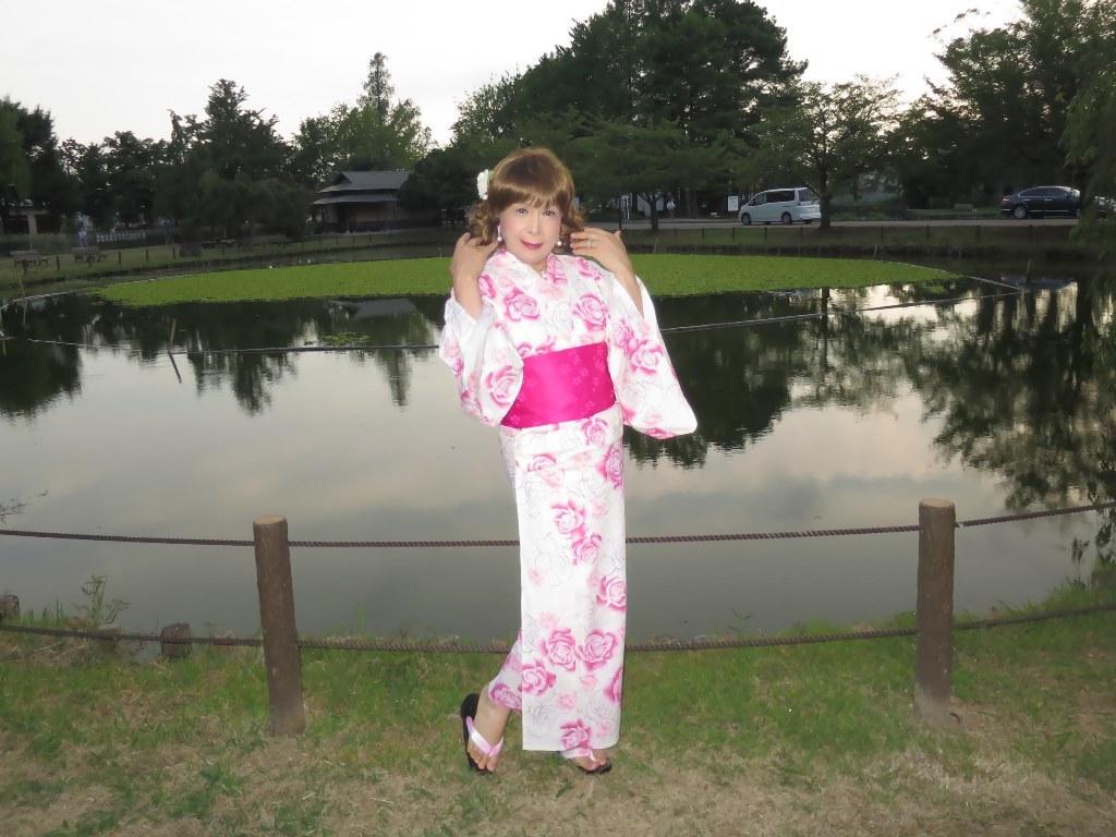 ピンク浴衣C(3)