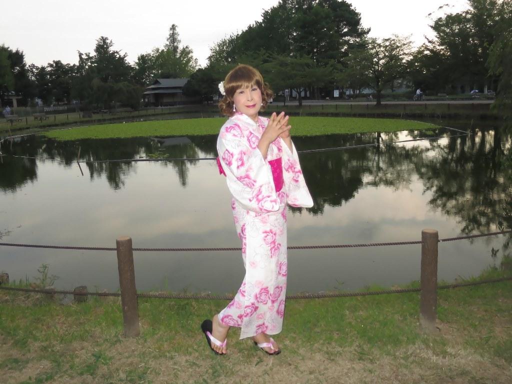 ピンク浴衣C(4)