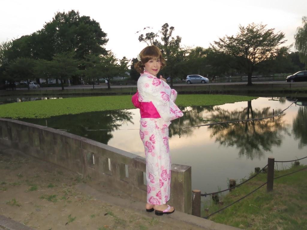 ピンク浴衣C(8)