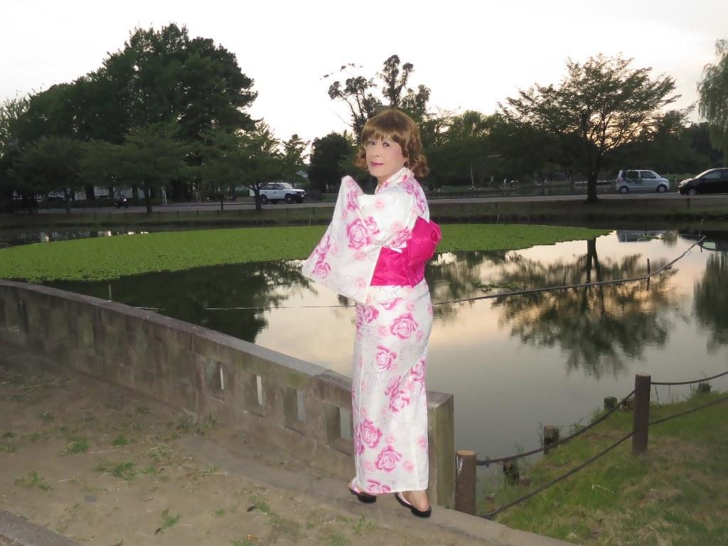 ピンク浴衣C(9)