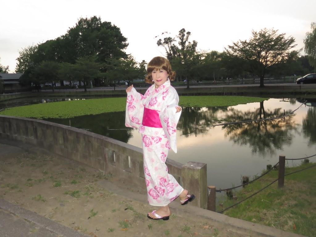 ピンク浴衣C(10)