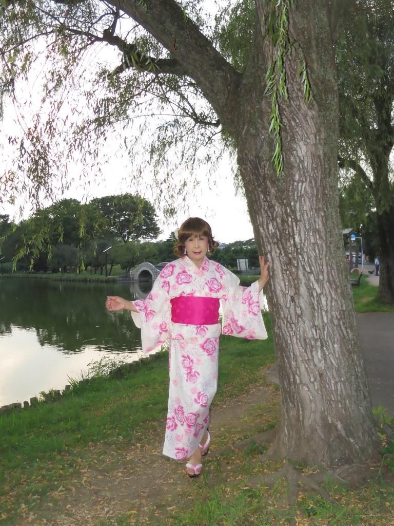 ピンク浴衣E(1)