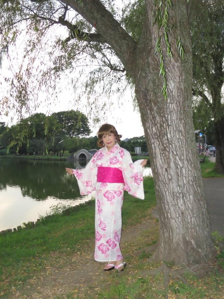 ピンク浴衣E(2)
