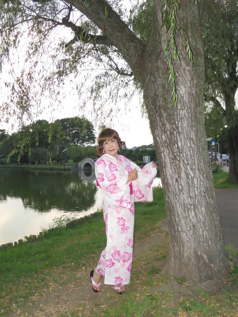ピンク浴衣E(3)
