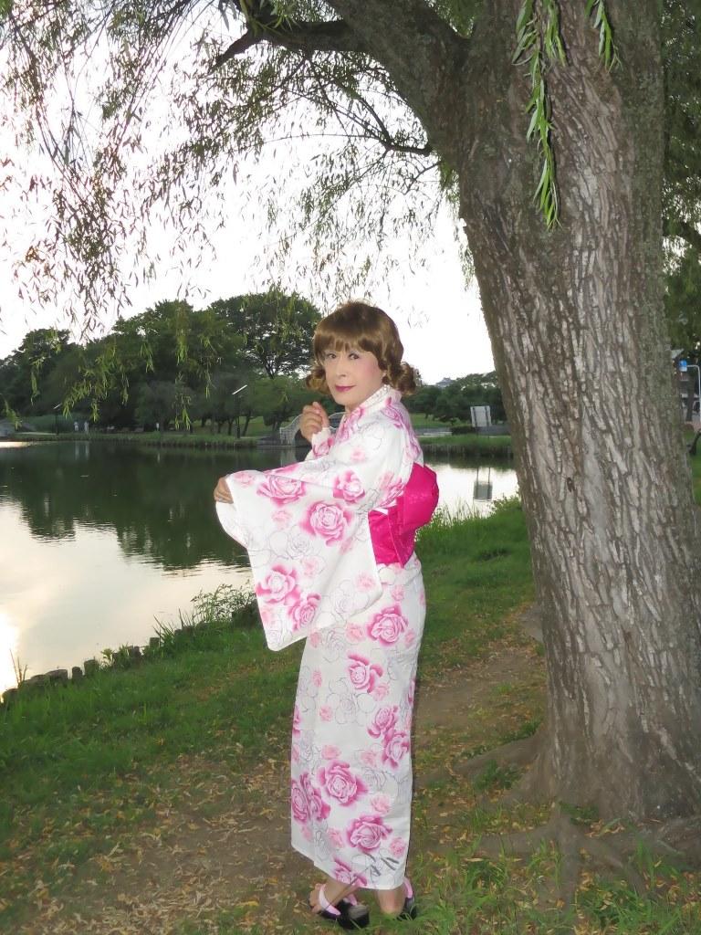 ピンク浴衣E(5)