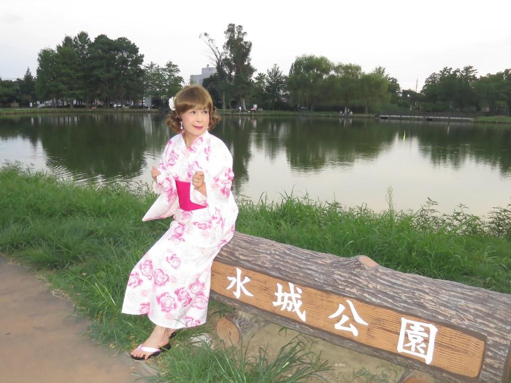 ピンク浴衣E(6)