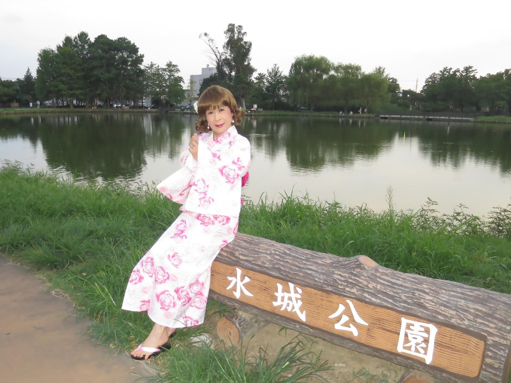 ピンク浴衣E(9)