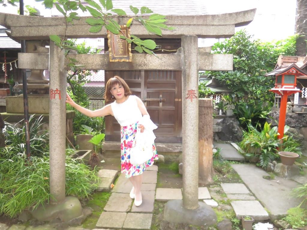 秋葉原柳森神社にて(3)