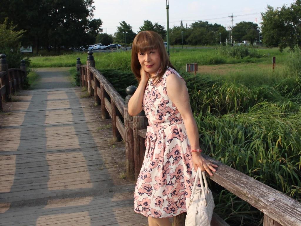 ピンクカシュクールワンピC(6)