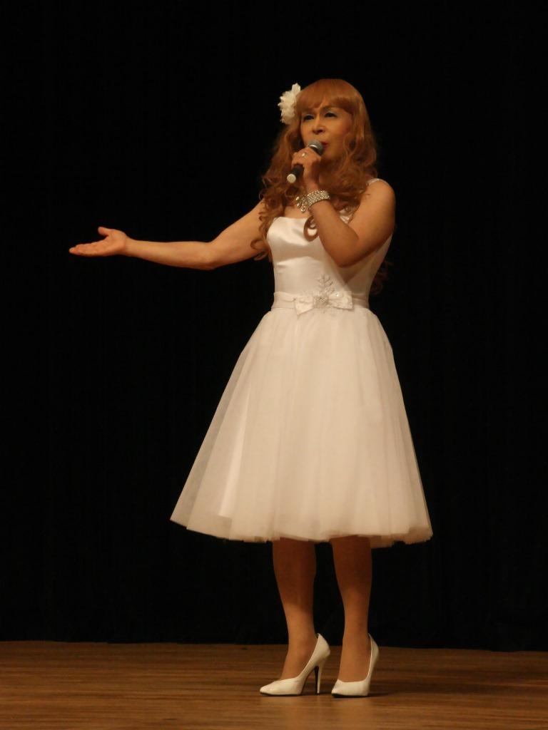 白ショートドレス歌謡祭(4)