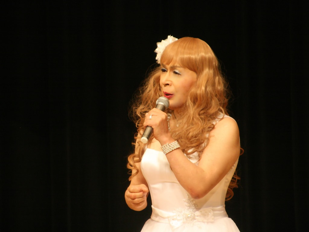 白ショートドレス歌謡祭(5)