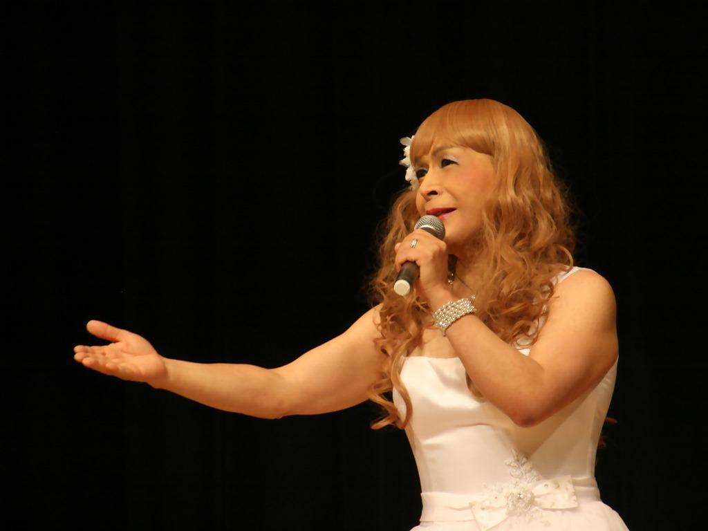 白ショートドレス歌謡祭(6)