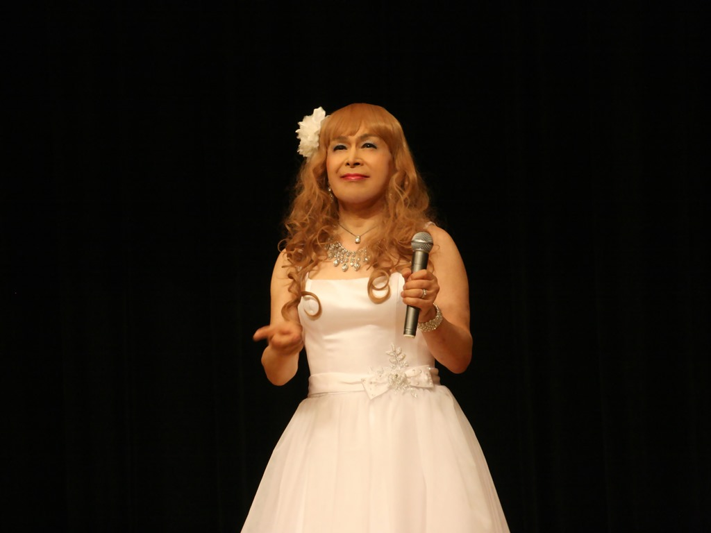 白ショートドレス歌謡祭(7)