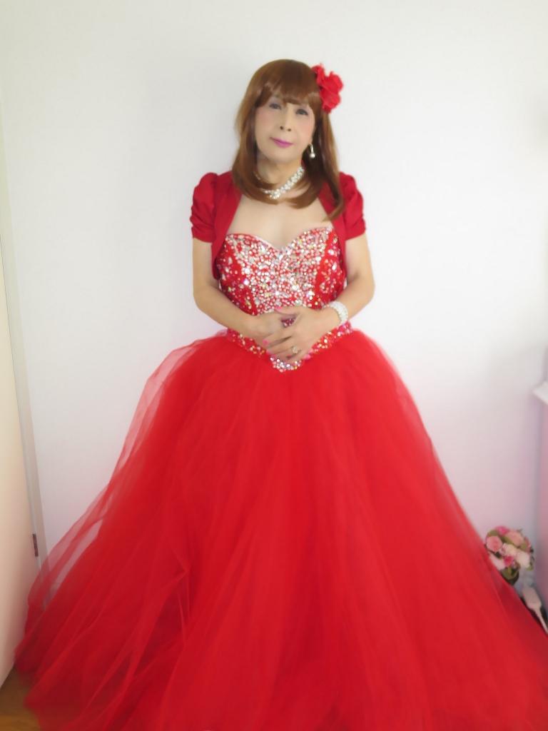 赤ドレス赤ボレロ(2)