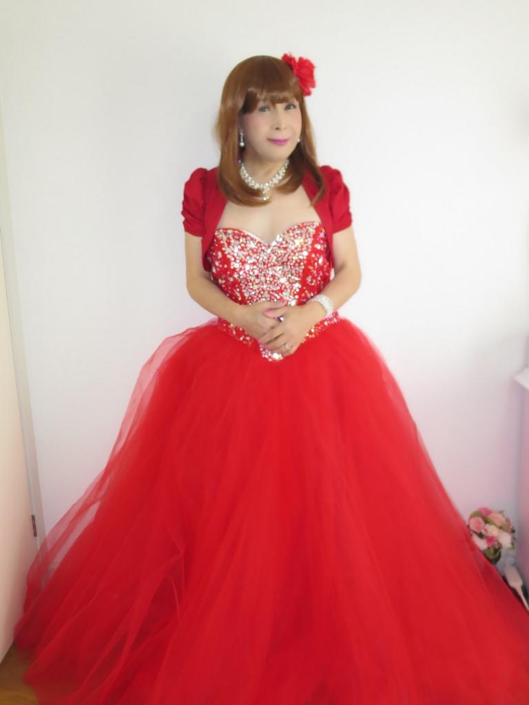 赤ドレス赤ボレロ(3)
