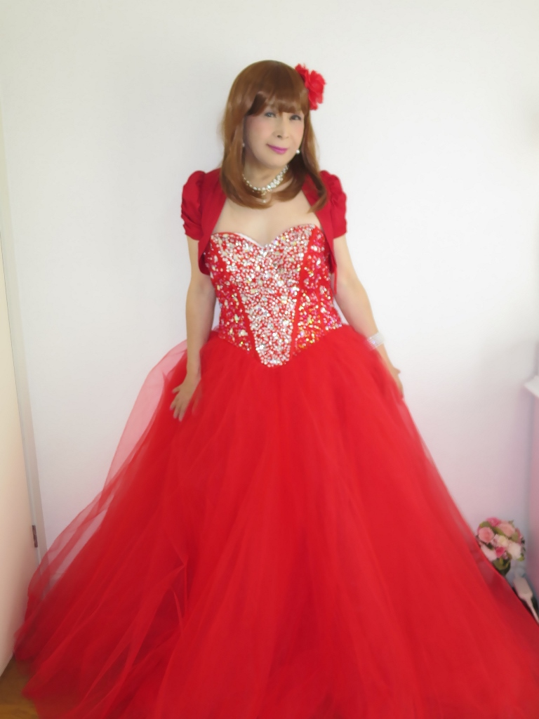 赤ドレス赤ボレロ(4)