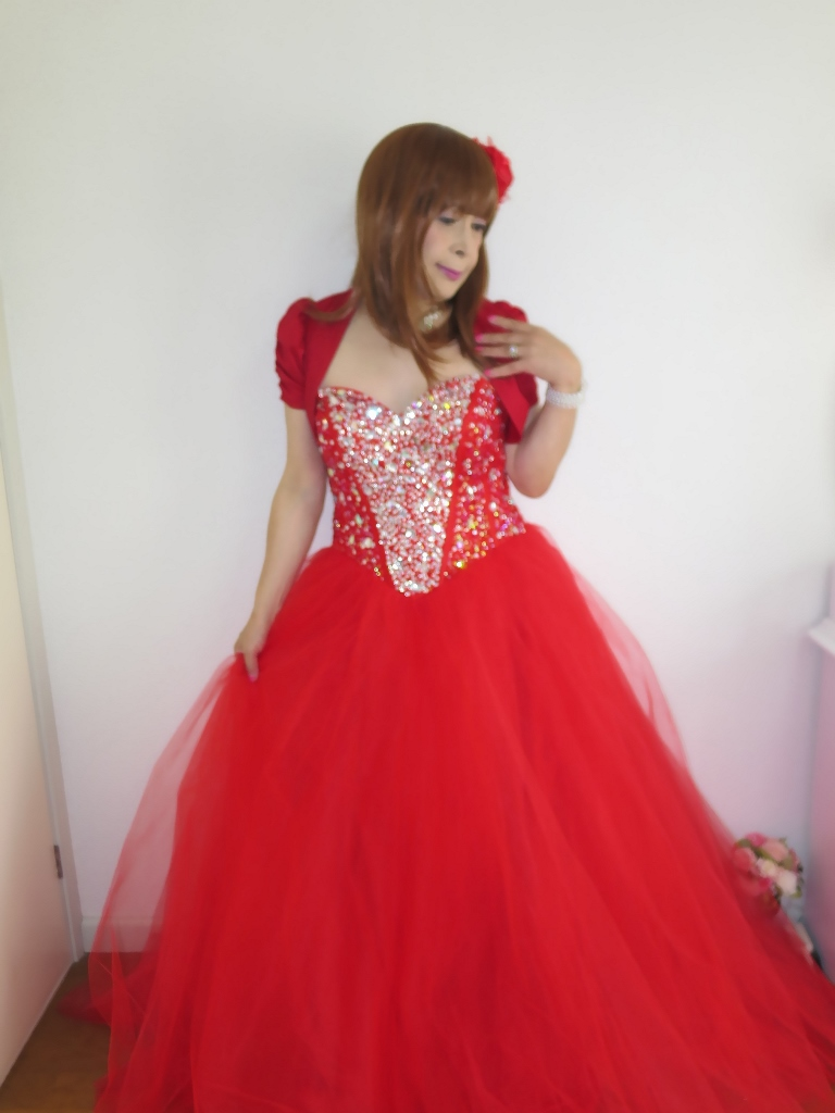 赤ドレス赤ボレロ(5)