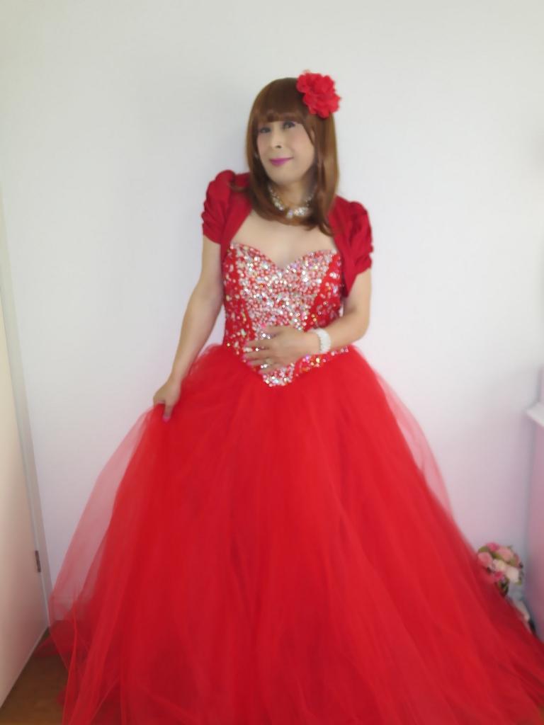 赤ドレス赤ボレロ(6)