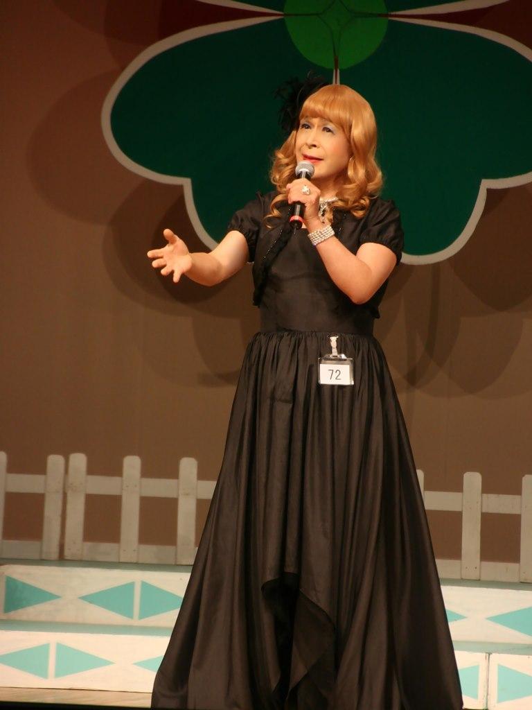 黒ドレス舞台D(1)