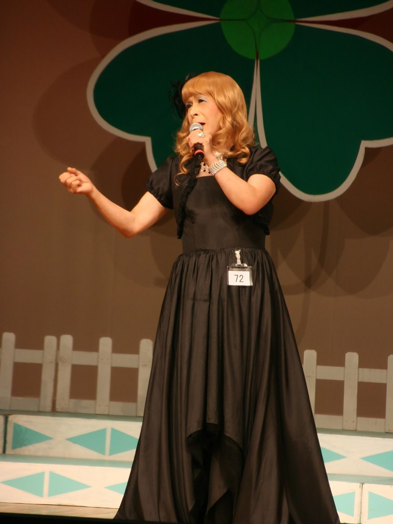 黒ドレス舞台D(2)