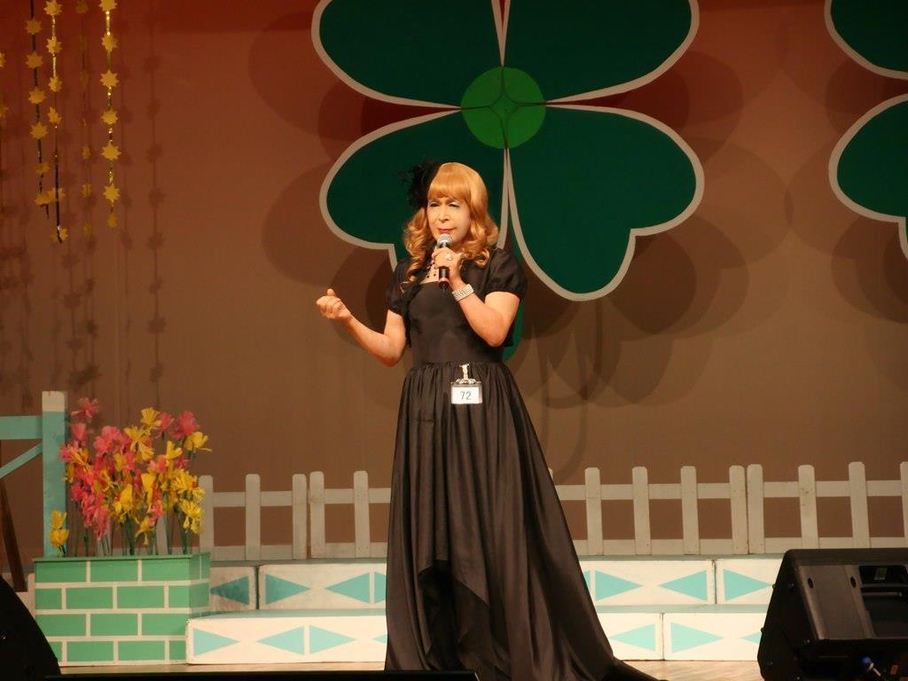 黒ドレス舞台D(3)