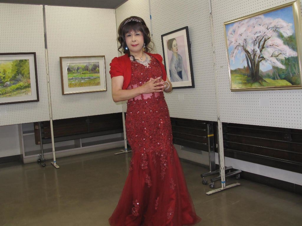 赤いドレス控室B(6)