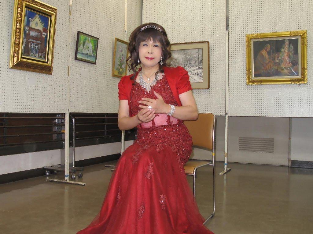 赤いドレス控室D(6)