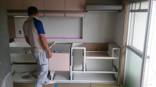 ブログキッチン施工 (11)
