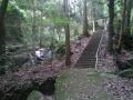 桃尾の滝 石上神社 参道
