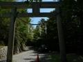 玉置神社 入口鳥居1