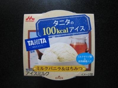 タニタの100kcalアイスミルクバニラ&はちみつ