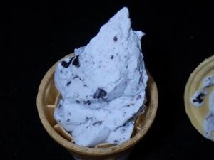 ソフトアイスクッキーチョコミント
