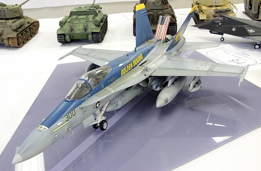 F18ホーネット ゴールデンドラゴンズ-2