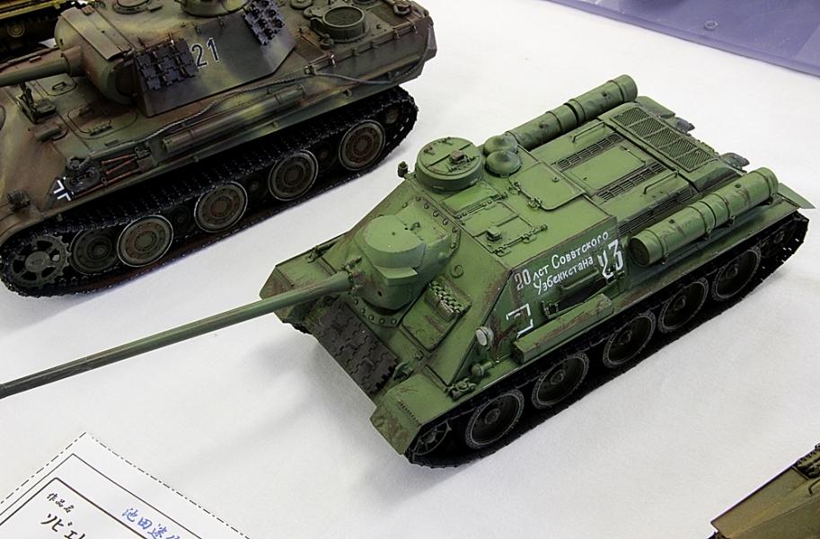 SU100駆逐戦車-1