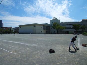 ティーボール練習