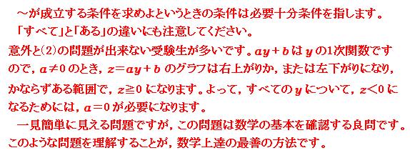 2016 岐阜大学<理系> 第2問 命題 コメント