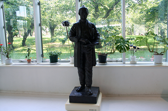函館 五稜郭タワー 武田斐三郎像