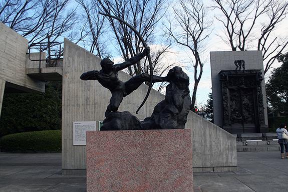国立西洋美術館 弓を引くヘラクレス